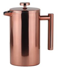 LA JOLIE MUSE Stainless Steel French Press Coffee Maker 34 OZ, Retain Heat and Easy Clean, Double Wall Insulate, 8 Cup 1000 ml, Rose Gold https://www.amazon.com/Stainless-French-Coffee-Retain-Insulate/dp/B06XRT1R7Y/ref=sr_1_126?s=kitchen&ie=UTF8&qid=1505568628&sr=1-126&keywords=french+press